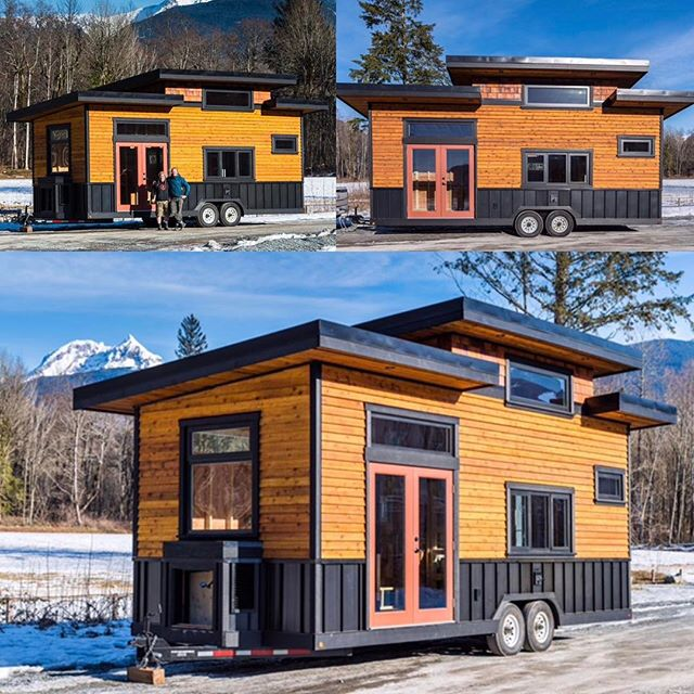 The house is up for sale! Check out our website, or our ad on #tinyhouselistings or #tinyhouselistingscanada. #timberwolfhomes #cabinporn #tinyhome #tinyhouse #squamish  #tinyhouseonwheels #tinyplanet