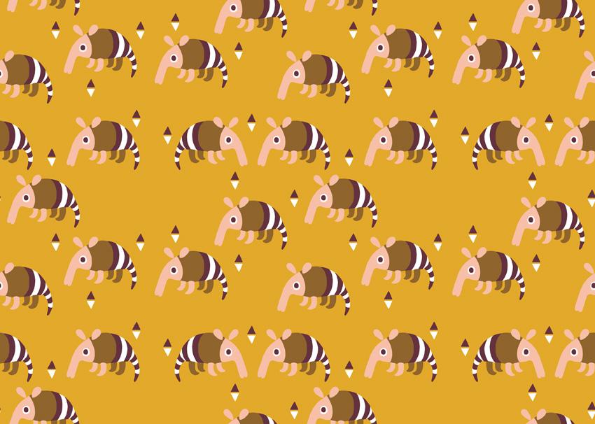 Armadillo - Golden