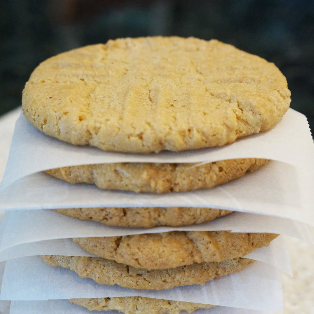Gluten Free Peanut Butter Cookies   $18 per dozen