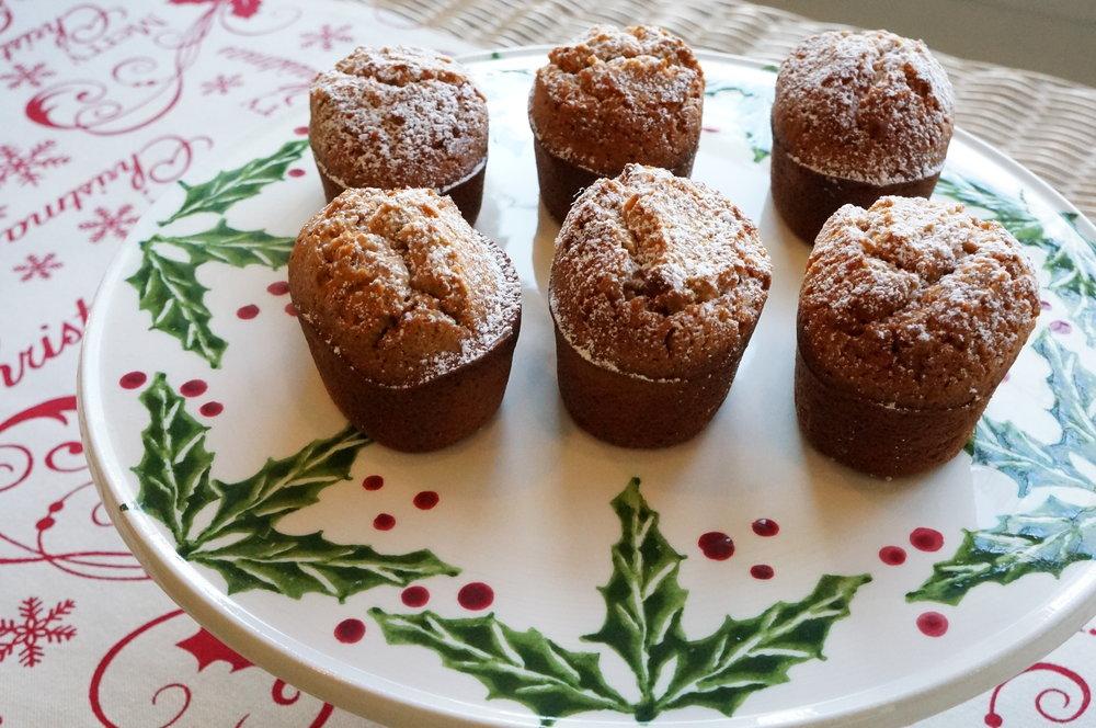 Gluten Free Christmas Spiced Friands (Seasonal)   $36 per dozen