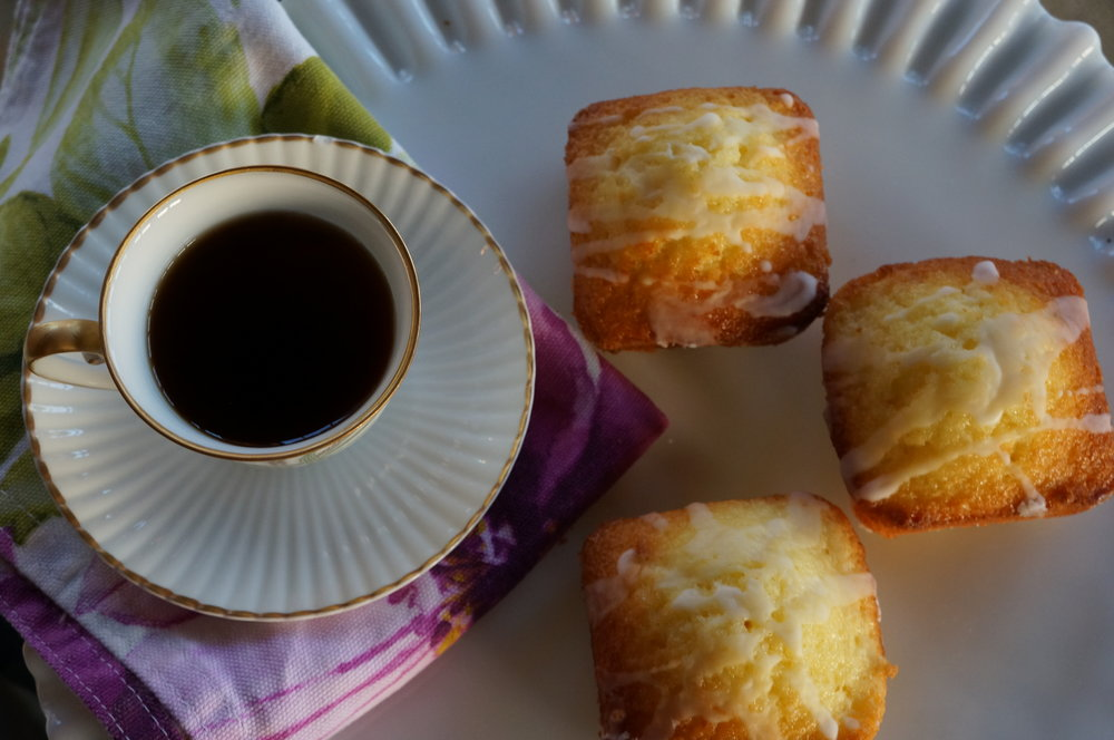 Gluten Free Mini Lemon Cakes   $30 per dozen