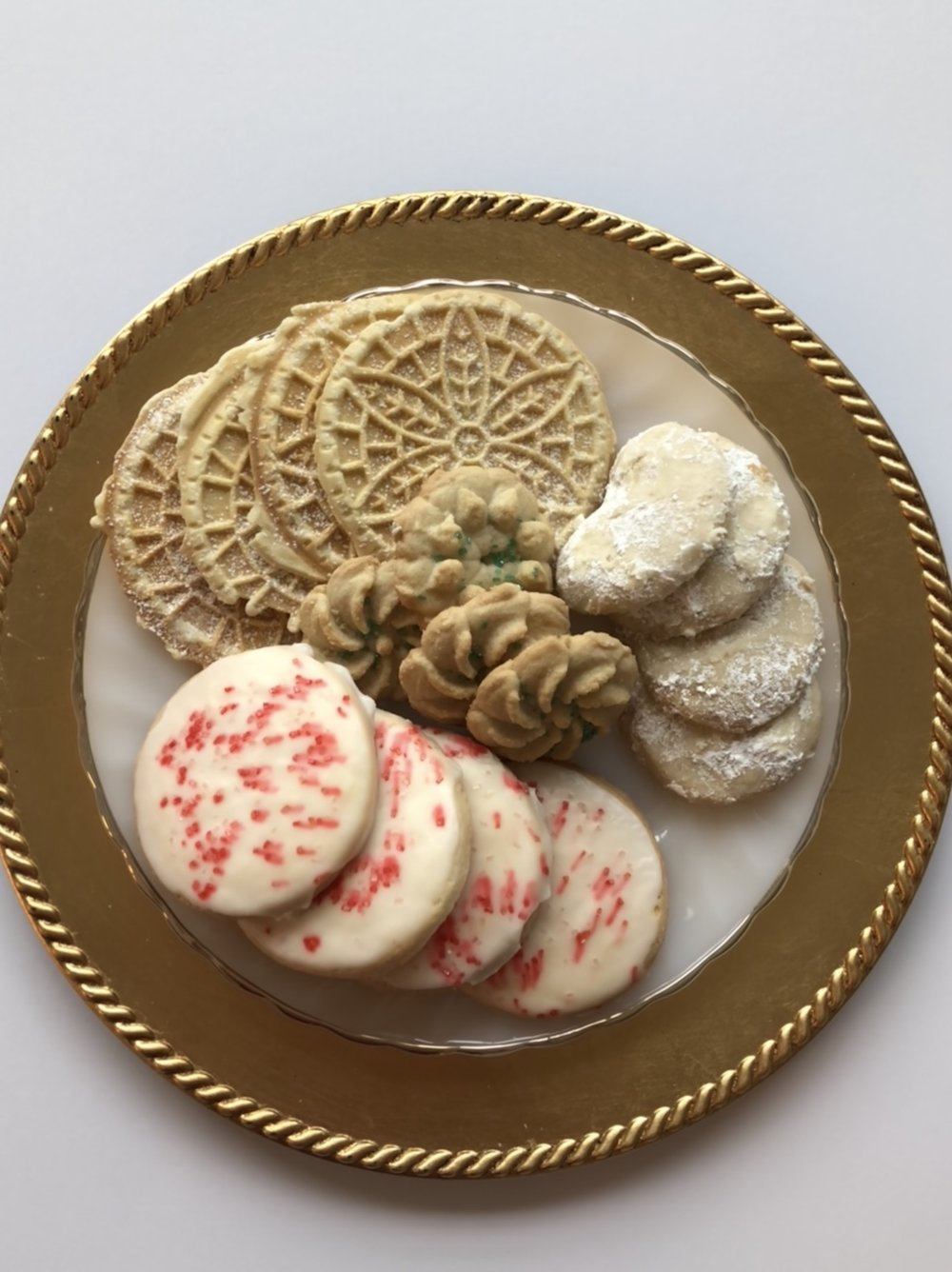 Seasonal Gluten & Dairy Free Assorted Christmas Cookies  $12 (16 cookies)