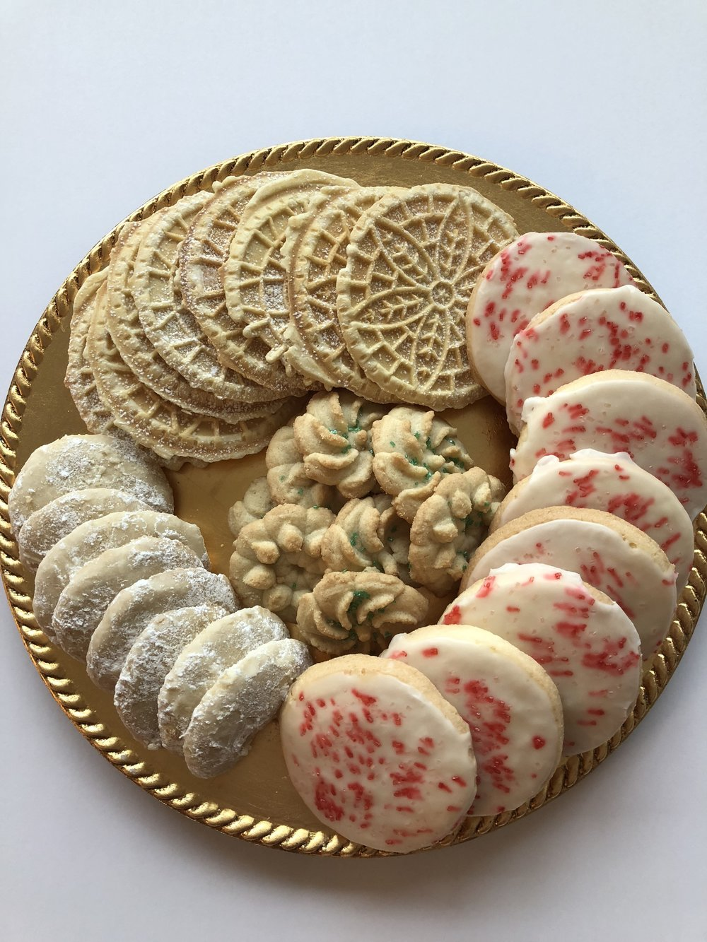 Seasonal Gluten & Dairy Free Assorted Christmas Cookies  $24 (32 cookies)