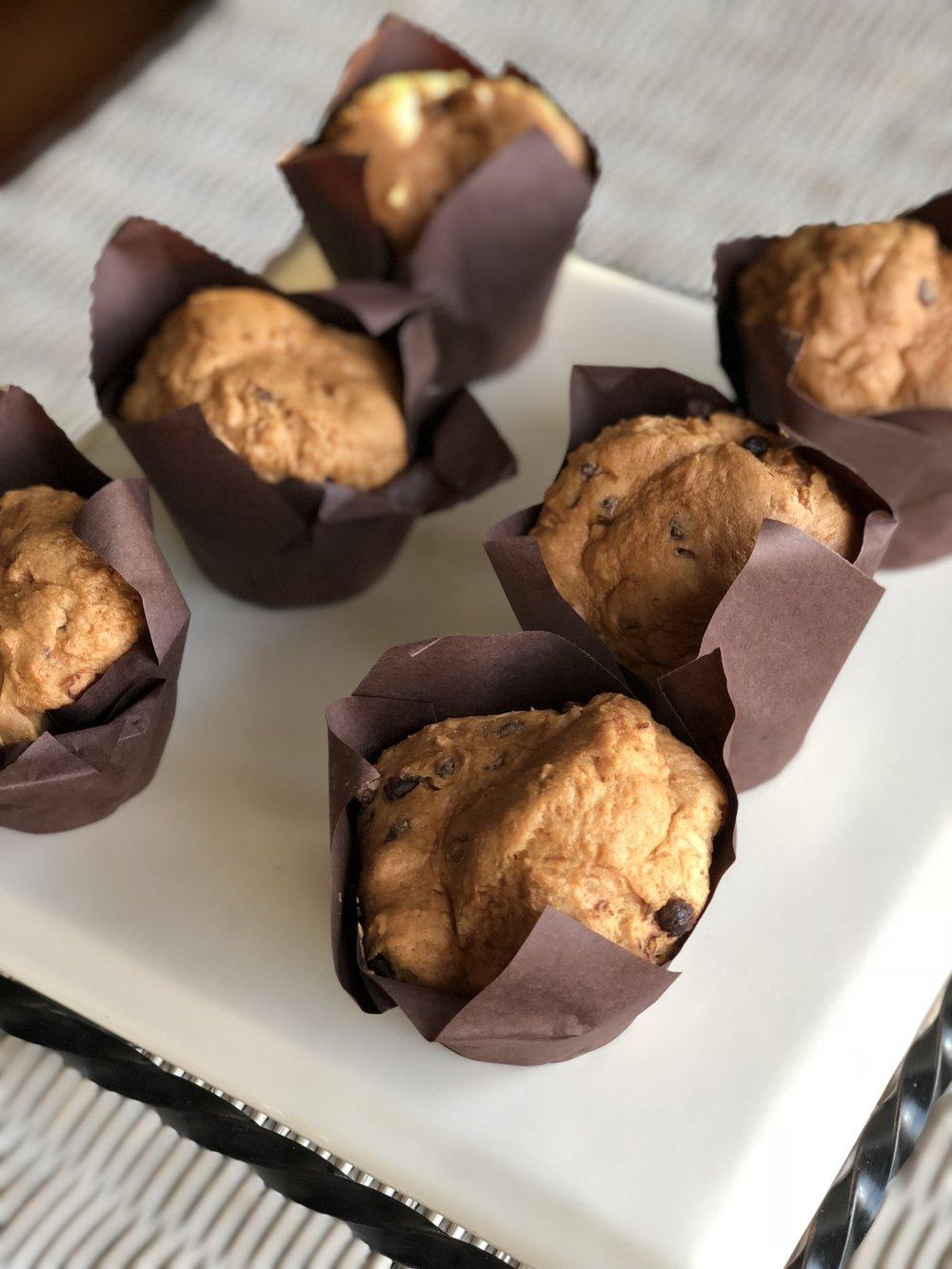 Gluten, Dairy, & Soy Free Chocolate Chip Sweet Bread  $27 per one dozen  $15 per 1/2 dozen