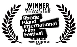 Meeting MacGuffin wins the  GRAND PRIZE for BEST ANIMATED SHORT  at the Academy Awards® Qualifying Rhode Island International Film Festival/Vortex 2017!   Check out the LIVE interview on  GoLocal  here!