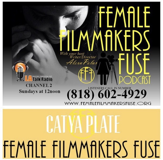 Tune in! I'm a special guest at the  FEMALE FILMMAKERS FUSE PODCAST  on August 12th in LA!The podcast starts at 12noon (PST) You can tune in online or via the LA Talk Radio App!!! Or check it out later  here  If you have any questions for me, you may call in during the interview at: 818-602-4929.