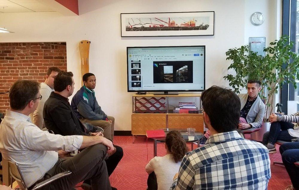 Presentation at Silverman Trykowski and Associates, Spring 2018.