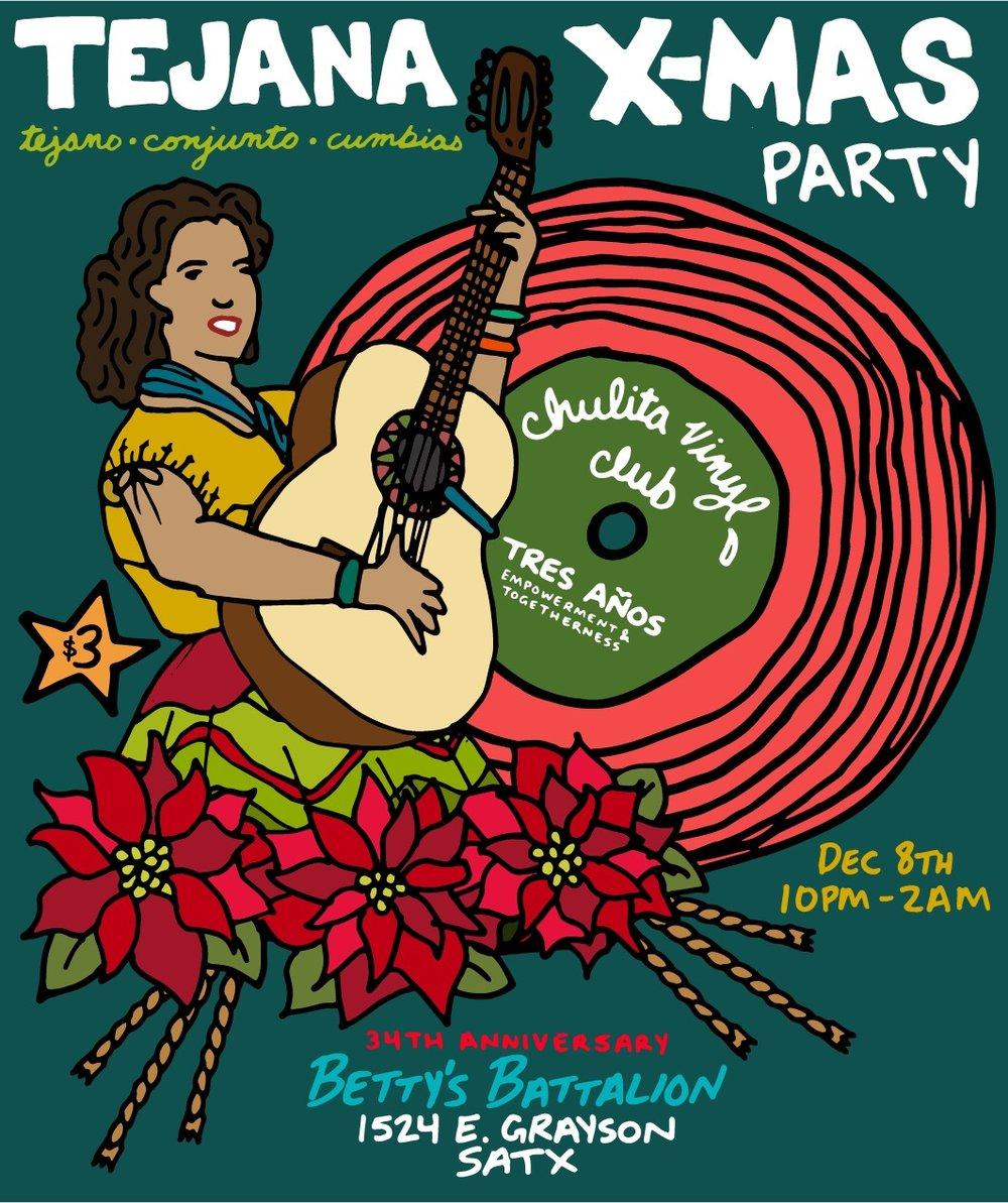 CVC San Antonio Tejana XMAS PARTY AND 3 YEAR ANNIVERSARY