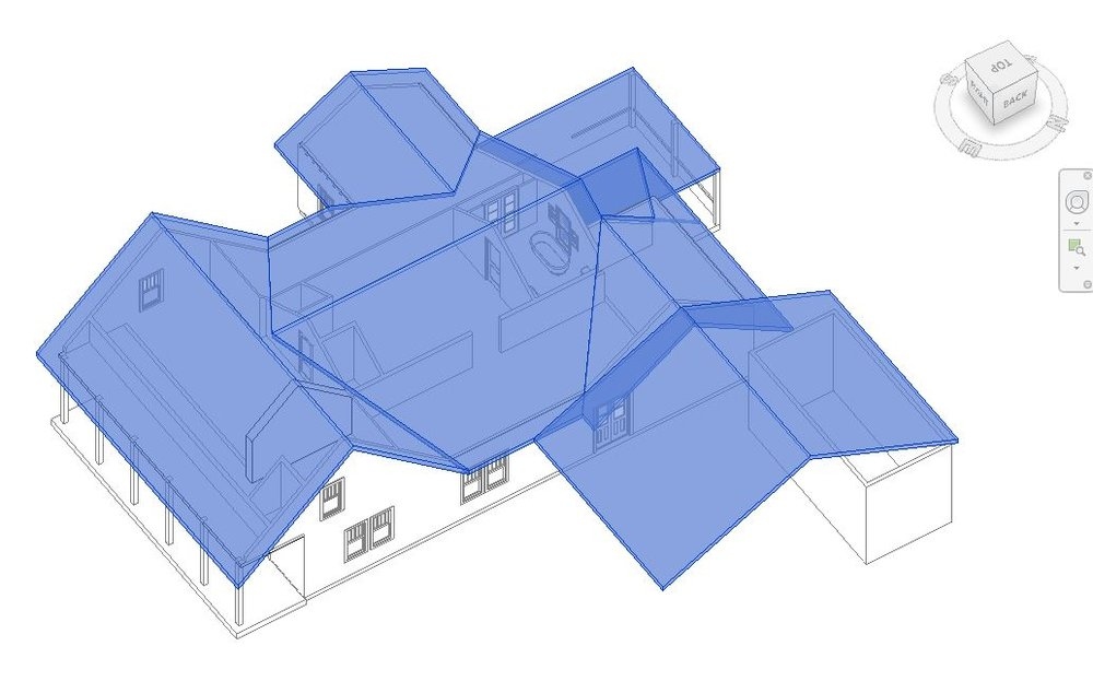 Learning about Revit roofs by working with existing conditions.