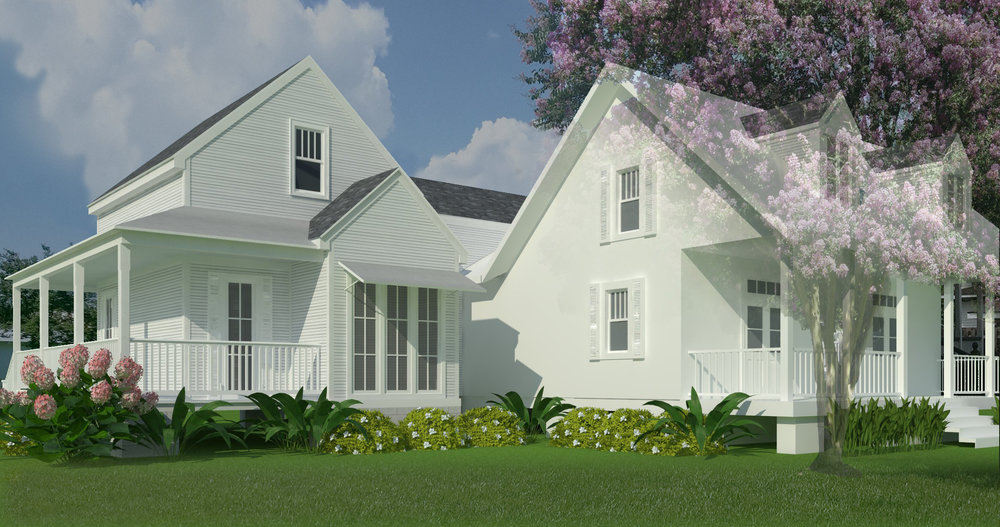 Final Design Development Rendering of Addition