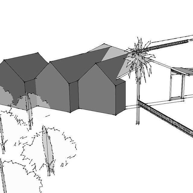 House Addition...Process Work by @StudioBKA