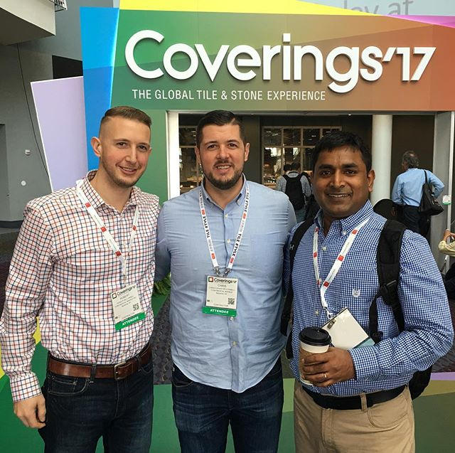 Continental takes Coverings 2017!