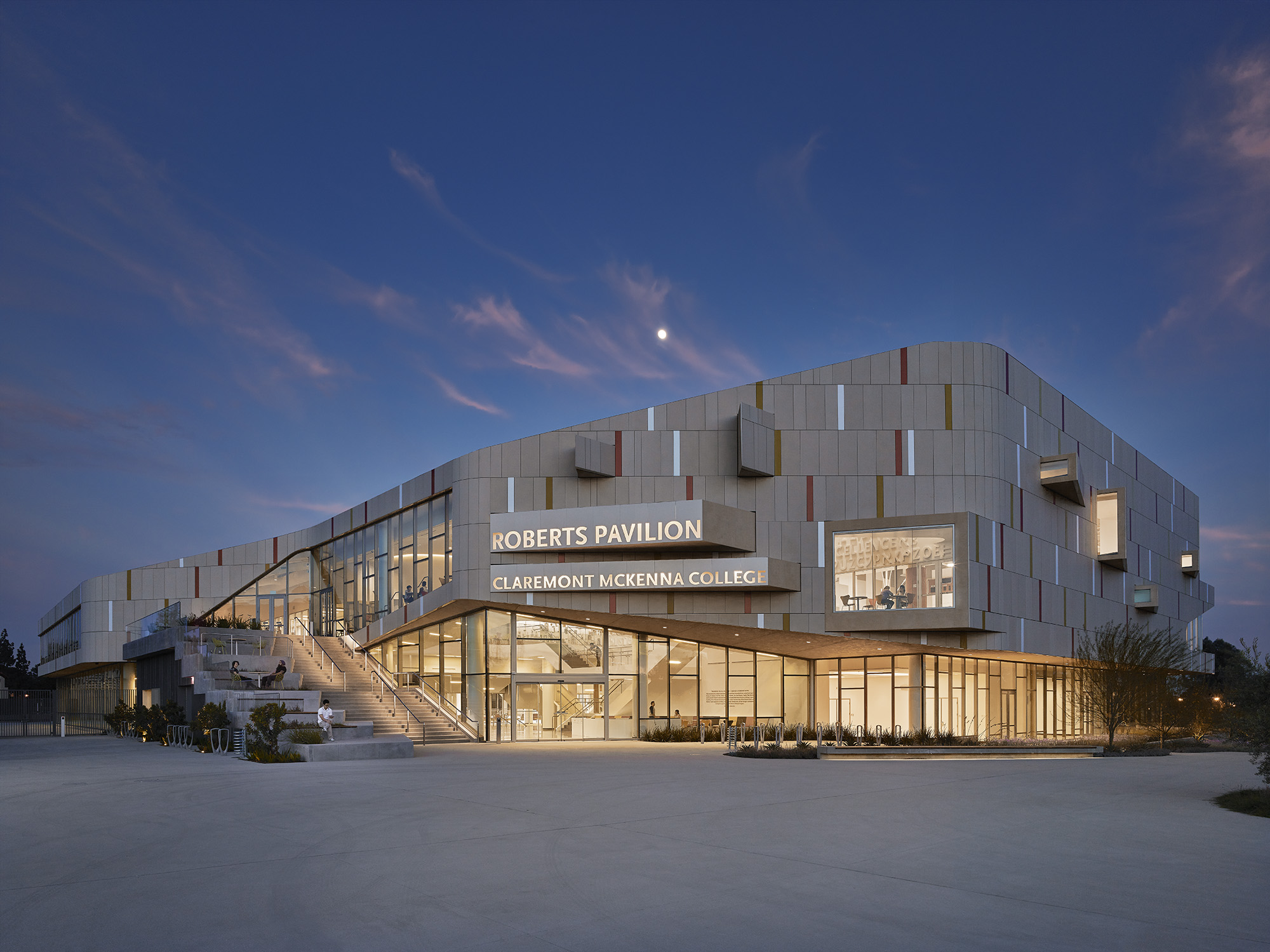 Claremont McKenna College dedicates Roberts Pavilion — JFAK