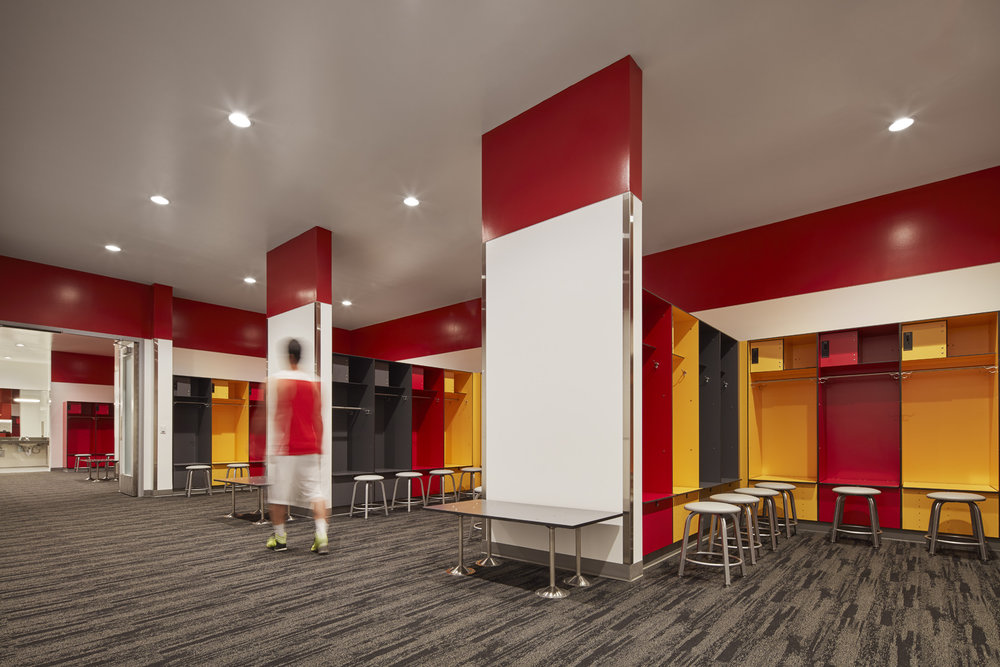 Football team room