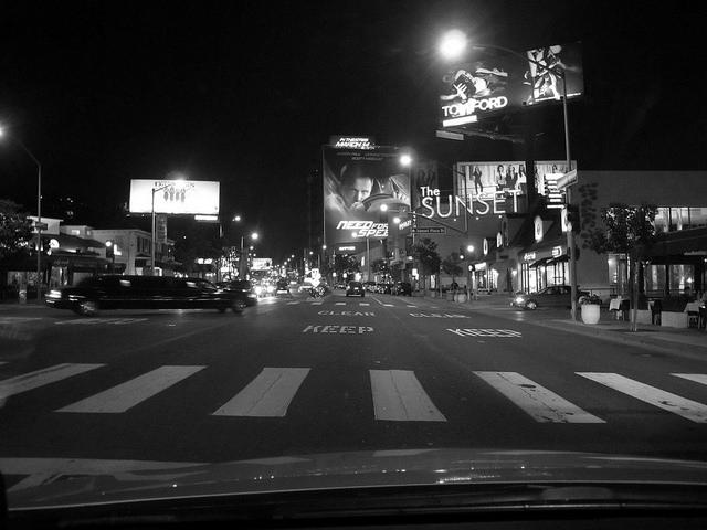 The famed Sunset Strip - Image: Frankie Leon