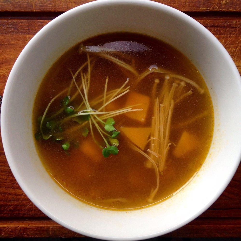 asian pumpkin soup
