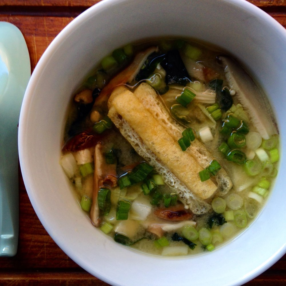 Hearty + Healing: not your average miso soup
