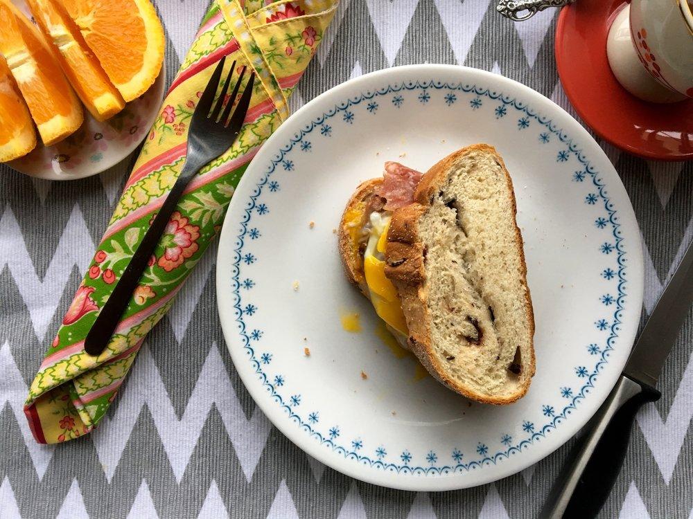 Breakfast Sandwich Delight
