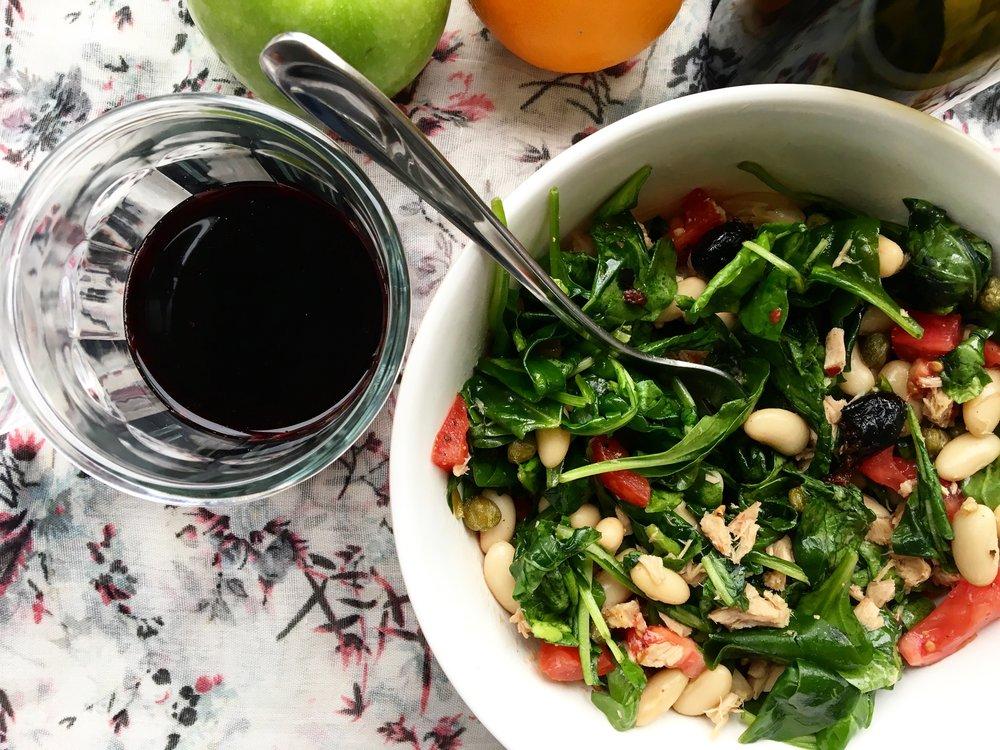 Arugula / White Bean / Tuna Salad