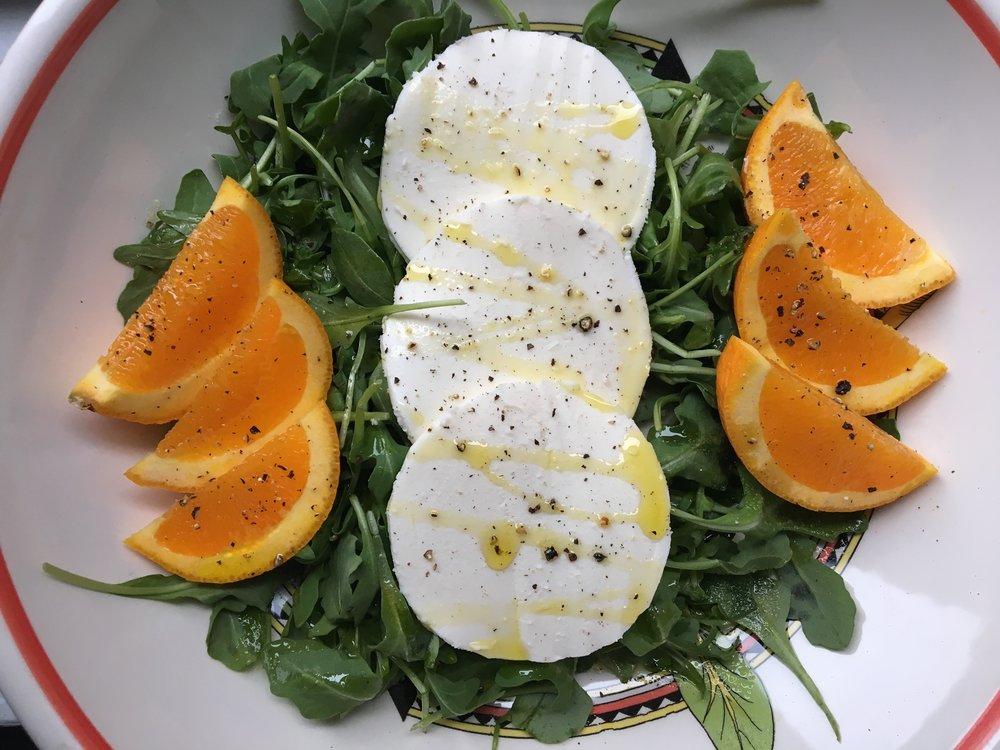 Mozzarella + Citrus Salad