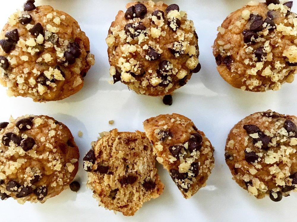 Chickpea Peanut Butter Mini-Muffins