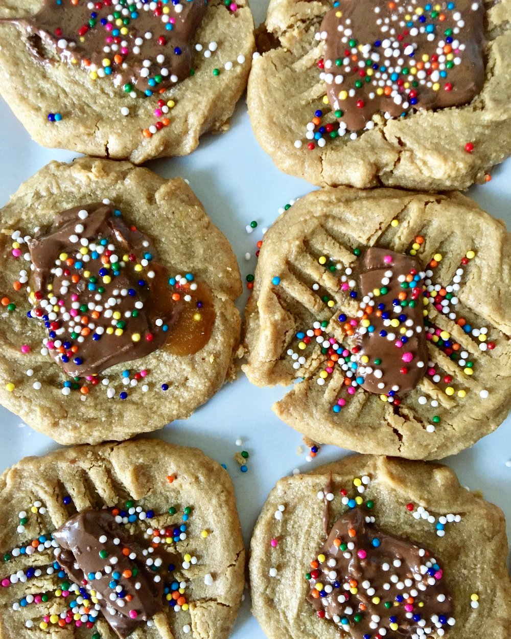Peanut Butter Caramel Cookies 2