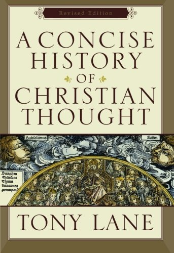 A Concise History of Christian Thought Tony Lange