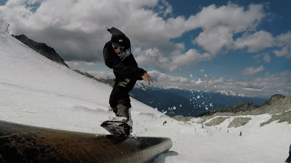 Brandon Winslow Snowboarding