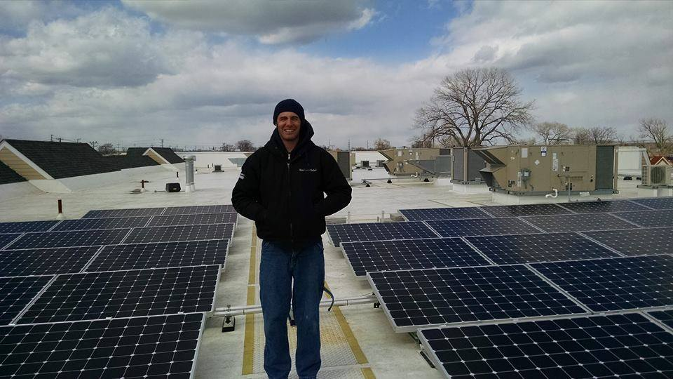 On top of the Empower Solar Sales Design Center.