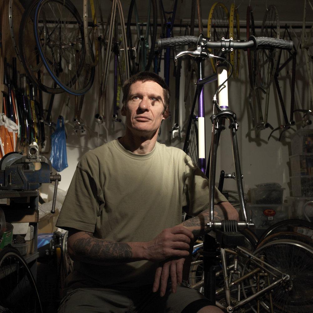 Cycle Mechanic Kiwi Paul