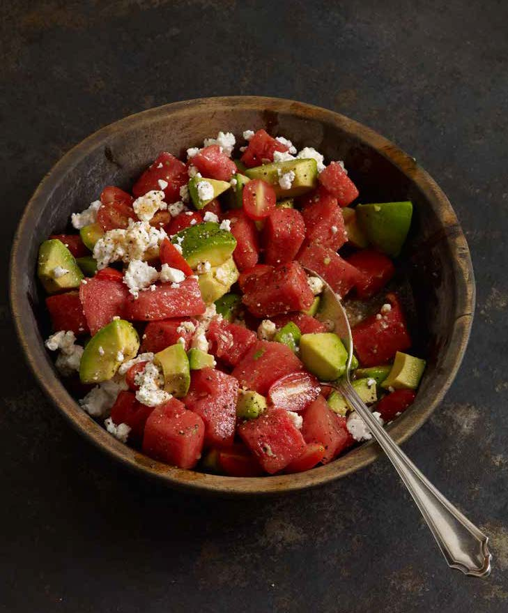Watermelon salad summer salad
