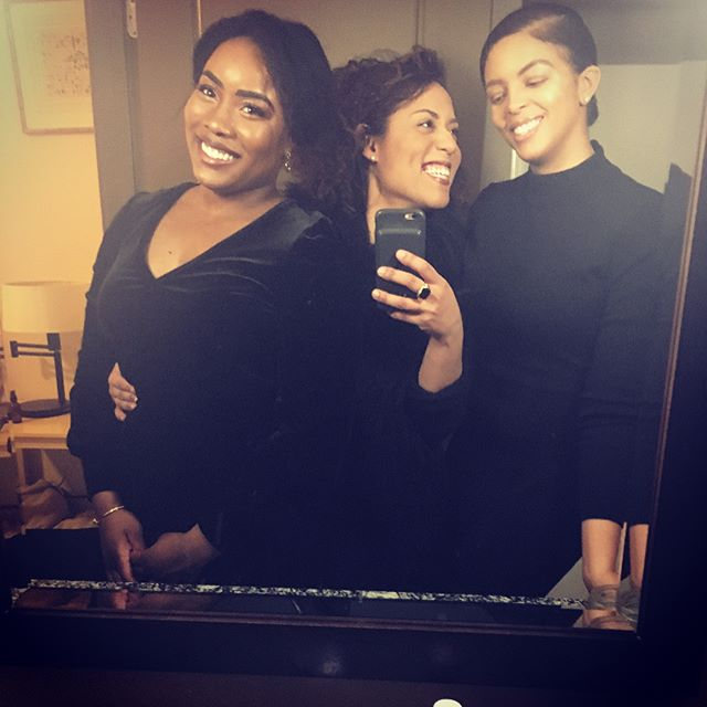 When your squad is surpassing all of the goals. Love you @merry_mirry and @taycarnes . #formation #blackgirlmagic #love #inthecompanyofmysisters #melanin #squadgoals