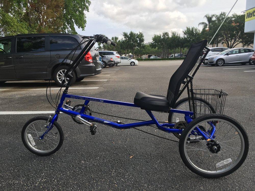 This bike is soooo blue