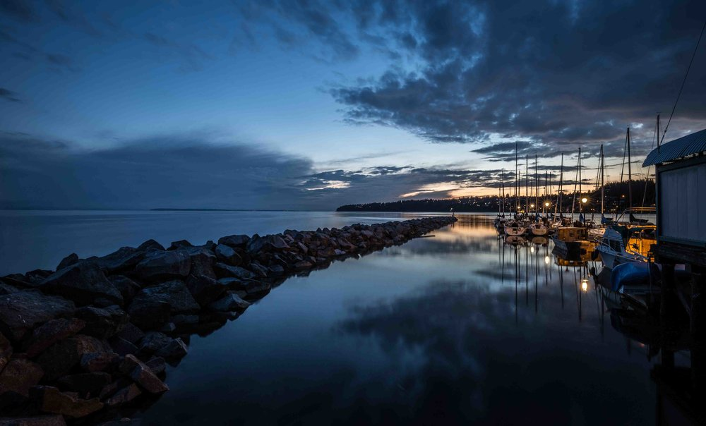 Leading Lines in Landscape Photography: White Rock - Canada