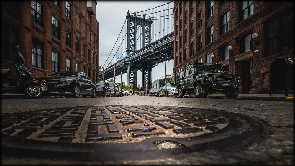 Urban City: Brooklyn - Streets of New York City.