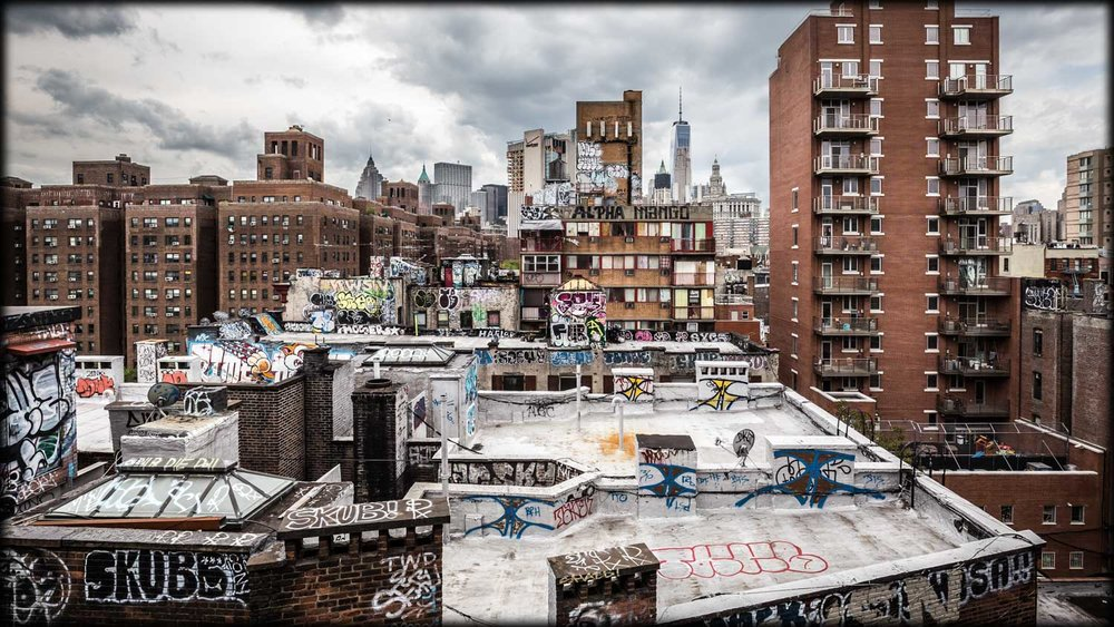 Urban City: Graffitis - Dirty Manhattan.