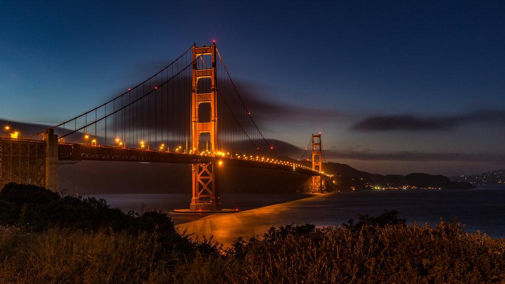 Impressive Architecture: Golden Gate Bridge in San Francisco.