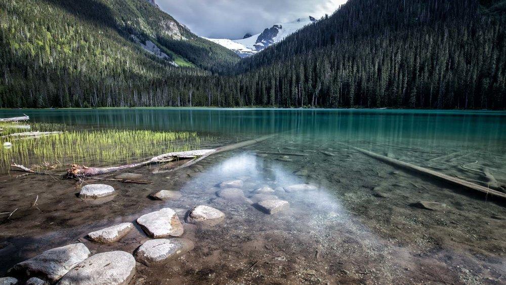 Turquoise Water: Lower Joffre Lake