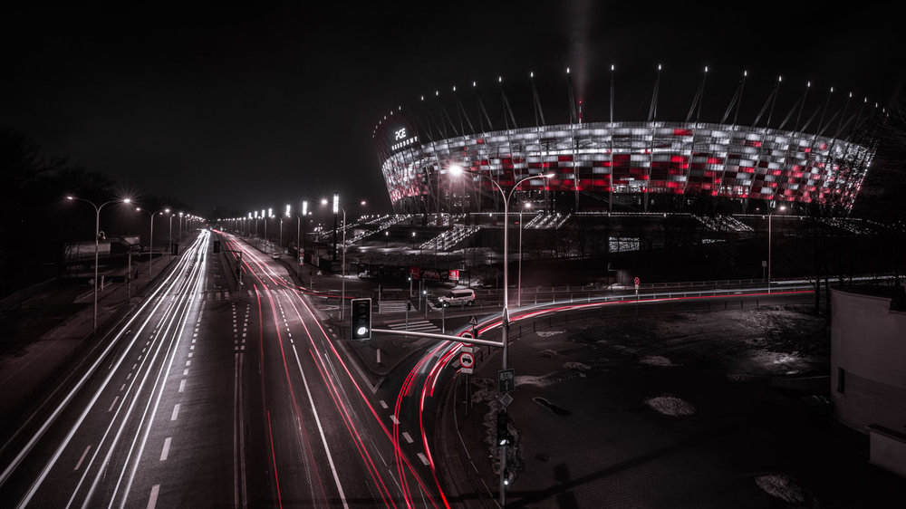 Abstract Art: National Stadium PGE Narodowy