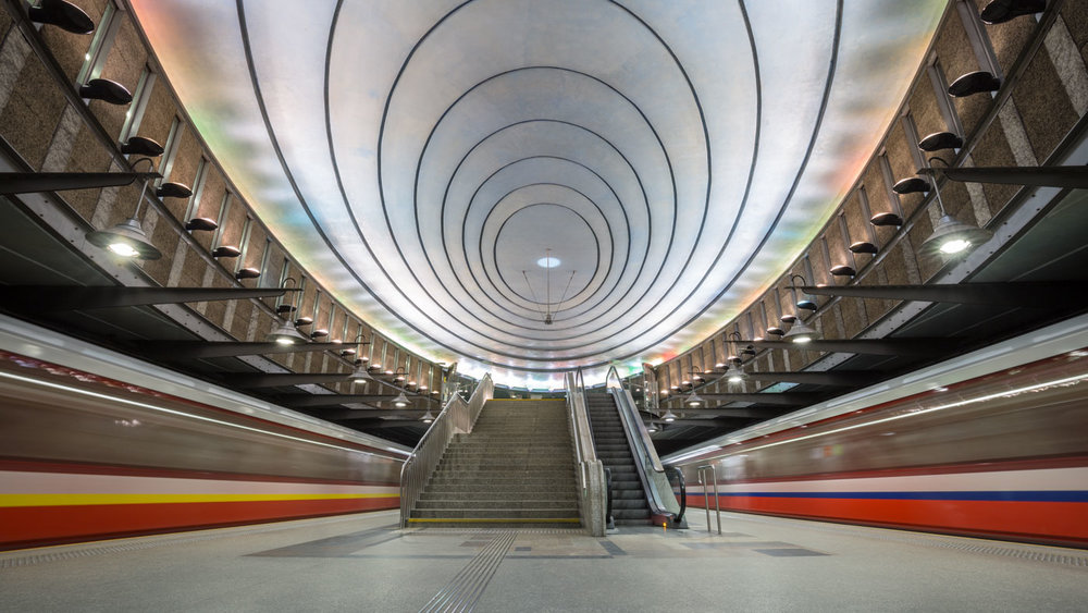 Pure Design: Metro Station at Plac Wilsona