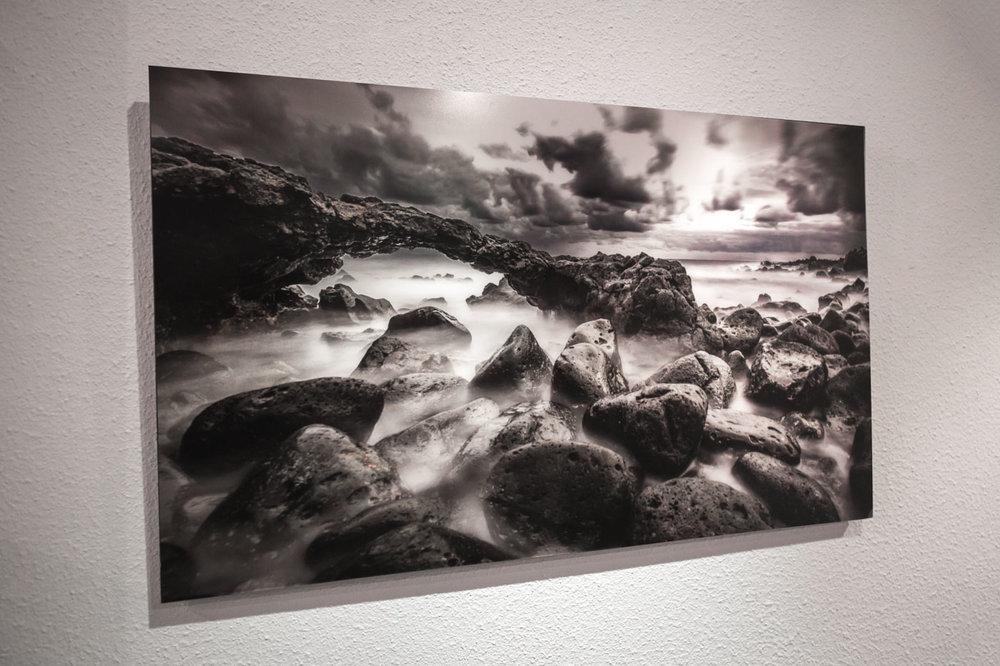 Whitewall Photo Print under Acryilic Glass: Landscape of Tenerife