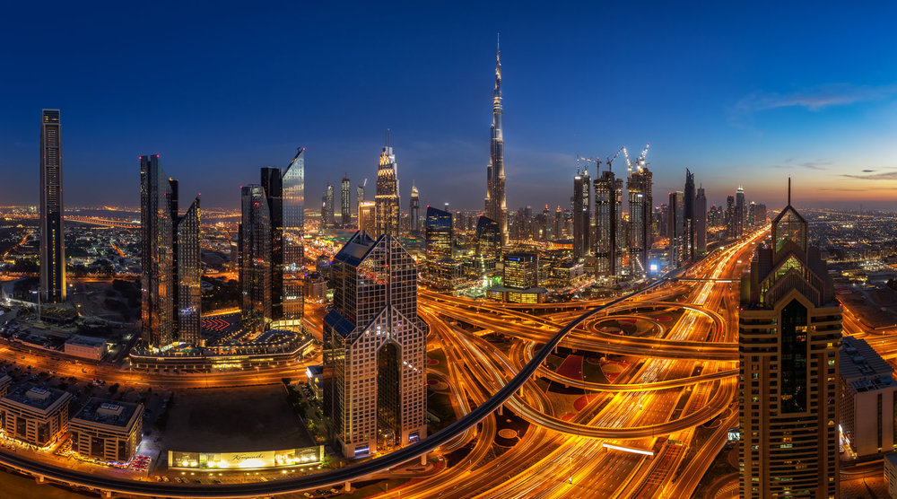 Fstoppers Shot of the Day: Downtown Dubai with the Burj Khalifa during the Blue Hour