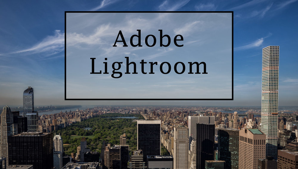 Adobe Lightroom - The perfect Library for Photographers