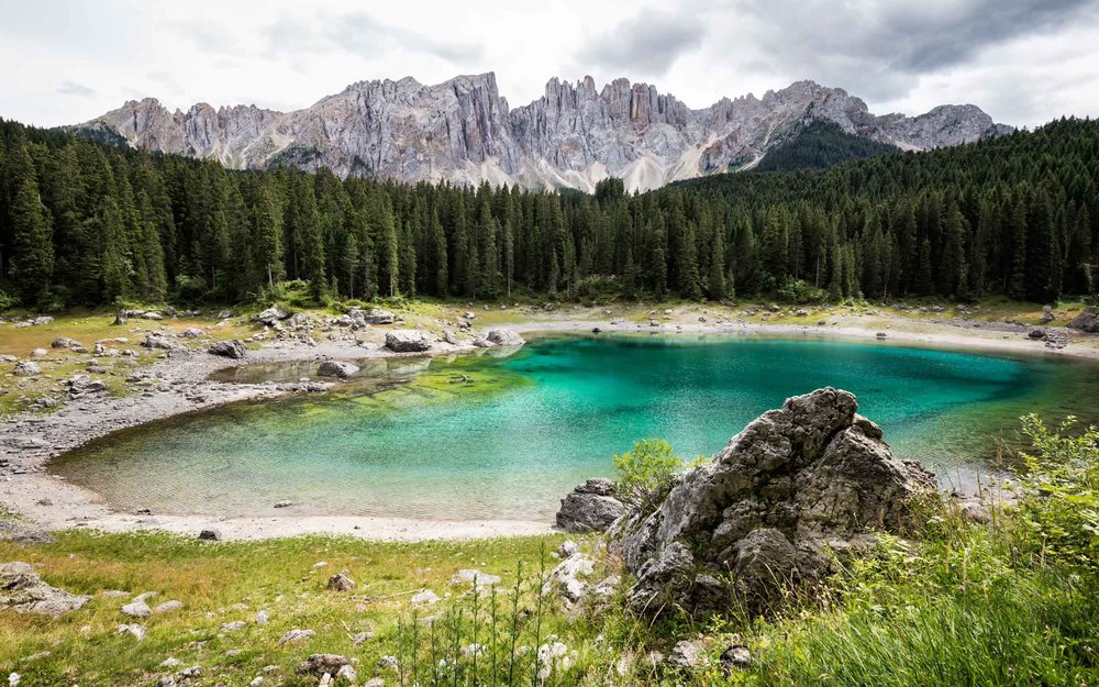 Turquoise Lake: Lago di Carezza