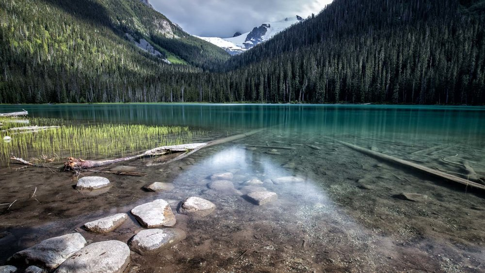 Turquoise Water: Lower Joffre Lake
