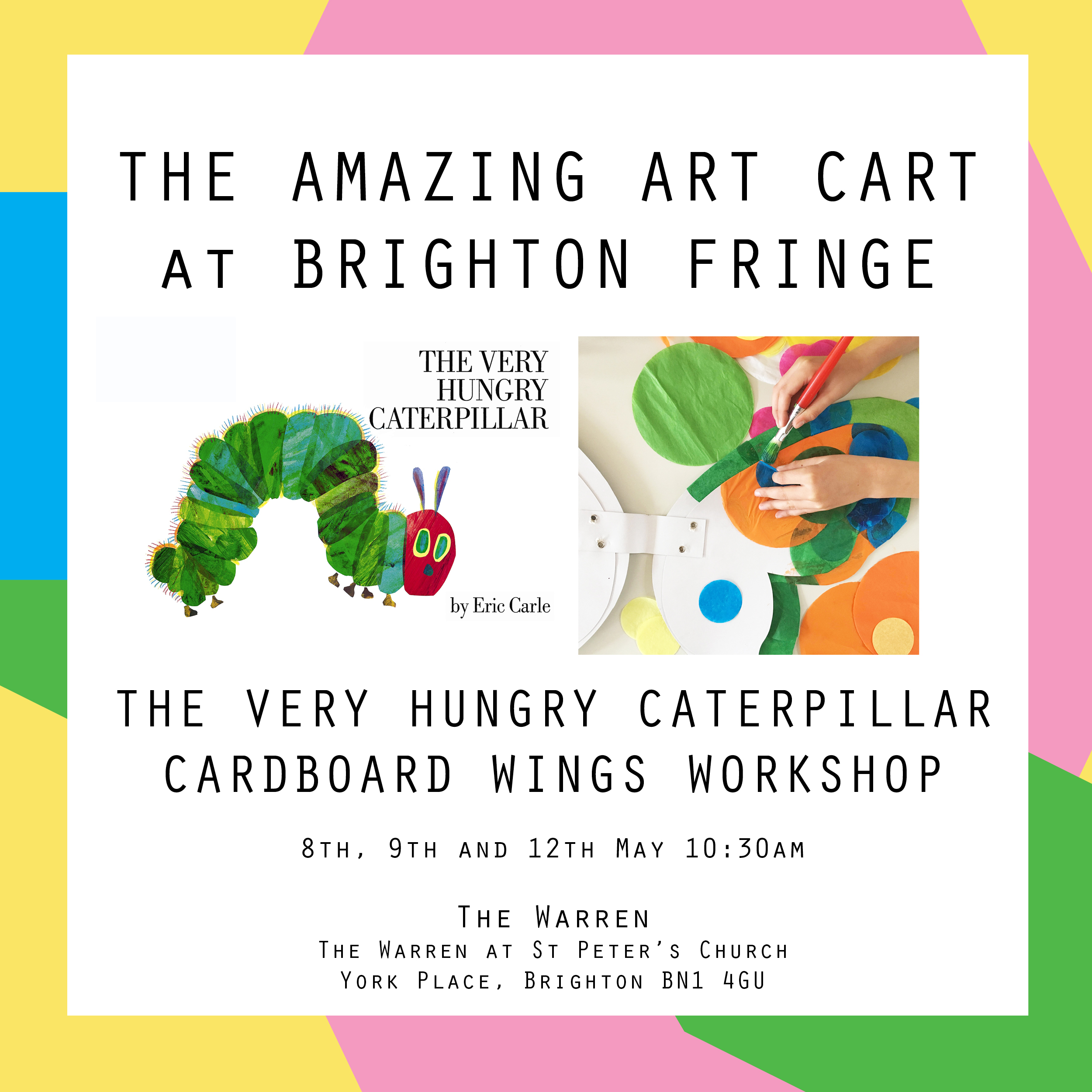 upcoming events the amazing art cart