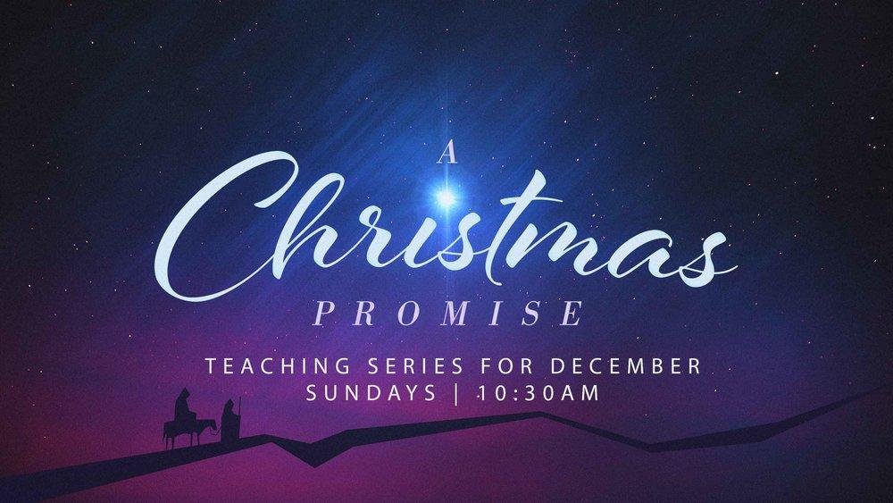 a christmas promise sermon series wellford baptist church - Christmas Eve Sermon