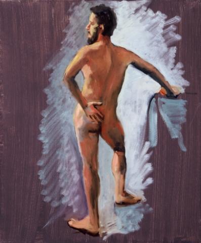 Nude With Beard