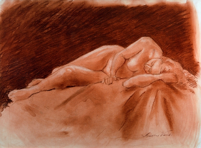 Resting Woman