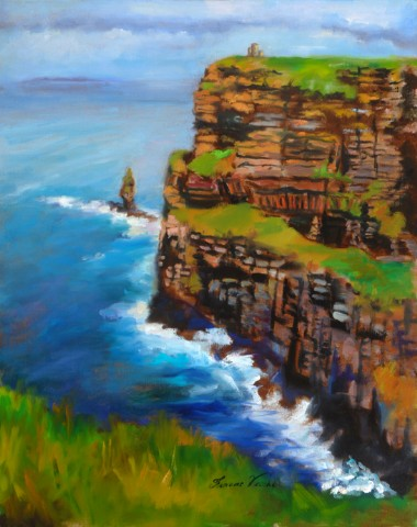 Cliffs of Moher II, Clare